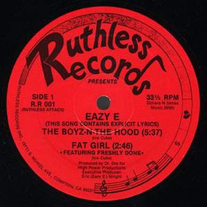 Eazy-E feat. N.W.A - Boyz-N-The-Hood