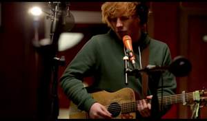 Ed Sheeran - Give Me Love (captured in The Live Room)