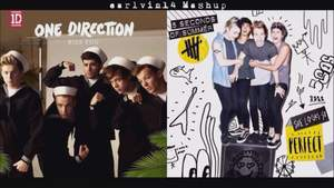 One Direction  5 Seconds of Summer - Kiss You vs. She Looks So Perfect (Mashup)