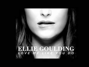 Ellie Goulding - Love Me Like You Do (минус)