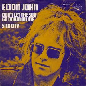 Elton John - Don't Let The Sun Go Down On Me (1974)