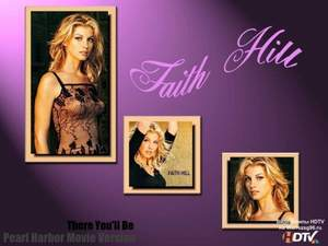 Faith Hill - There You'll Be (минус)